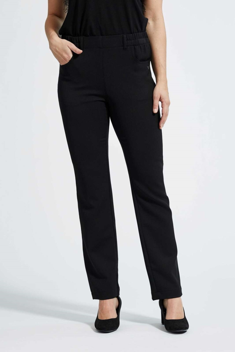 LauRie – Violet Buks – Uld – Regular fit – Sort