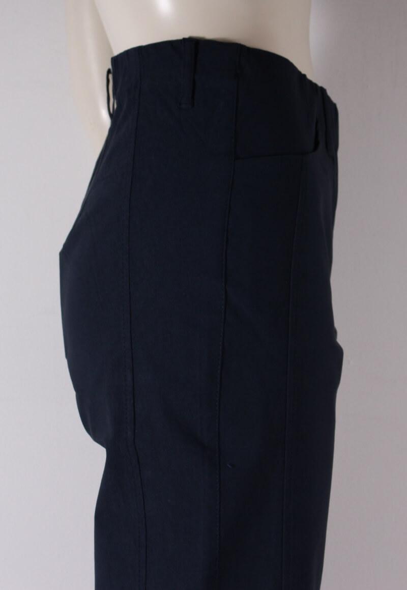 LauRie Rose Crop Dame Buks Regular fit Navy