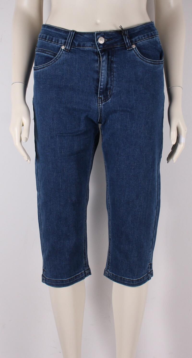 ASP – Net Pirat knickers jeans – Blå Denim