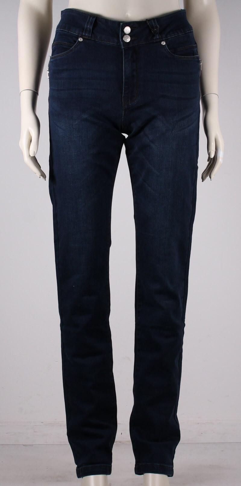 ASP – Elis Jeans – Regular fit – Mørkeblå Denim