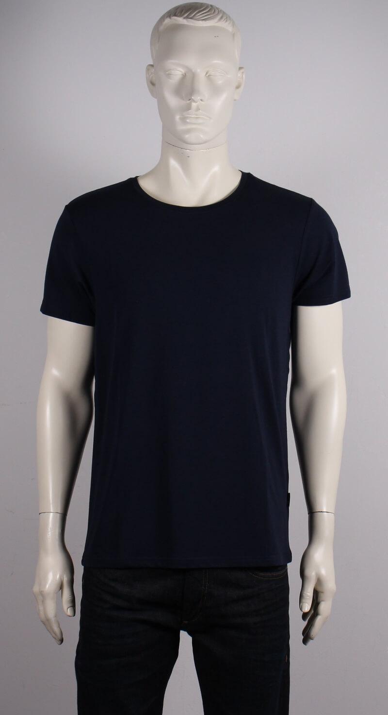 JBS – Bambus O-neck T-shirt Kortærmet – Mørkeblå