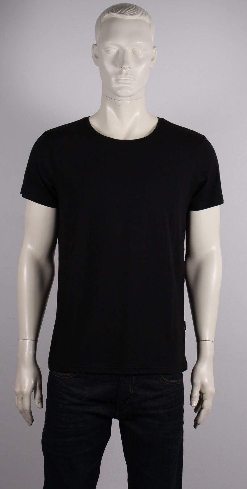 JBS – Bambus O-neck T-shirt Kortærmet – Sort