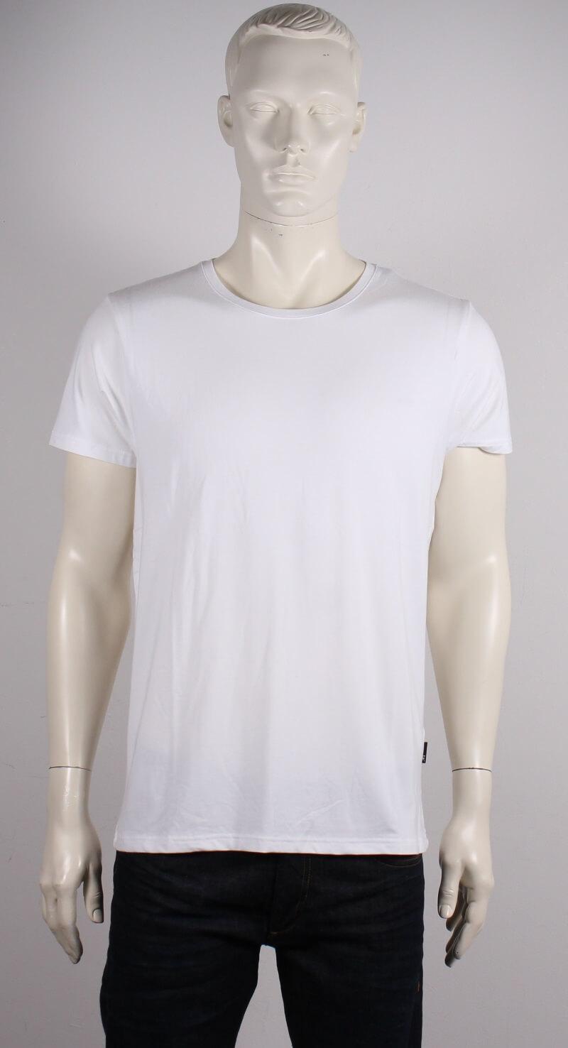 JBS – Bambus O-neck T-shirt Kortærmet – Hvid