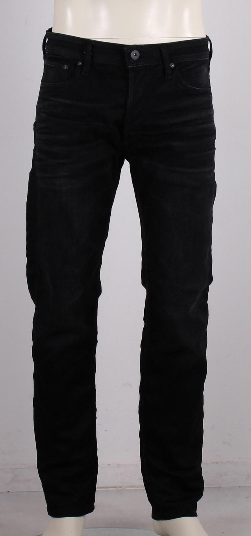 Jack&Jones – Mike Jeans – Comfort – Sort denim