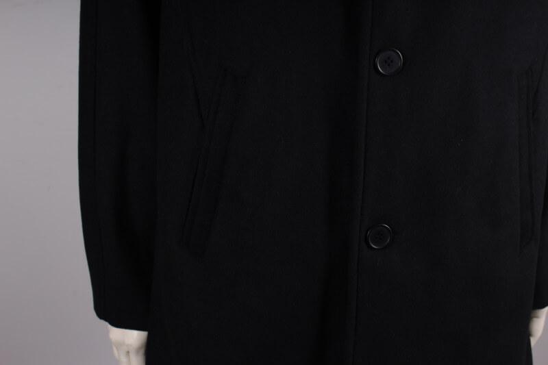 Morgan Herre uld jakke 30% Uld Sort
