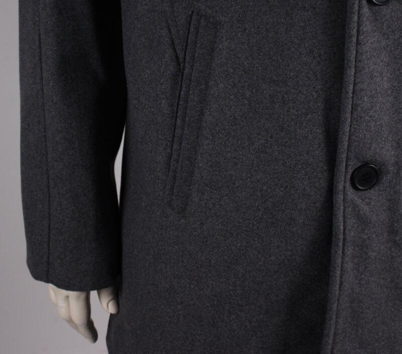 Morgan Herre uld jakke 30% Uld Grå mel.
