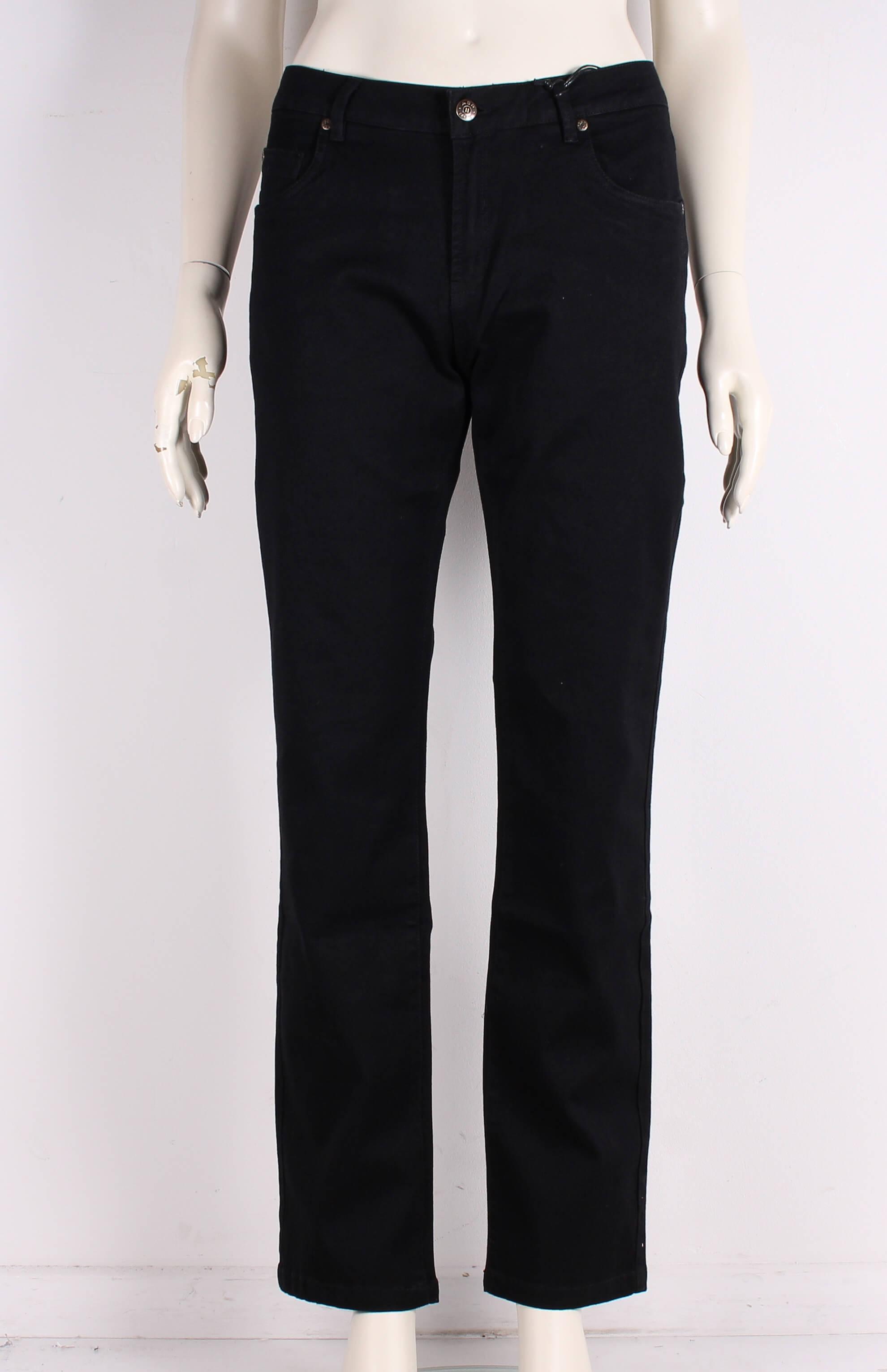 ASP – Smarte Dame Liv streght leg jeans – Sort