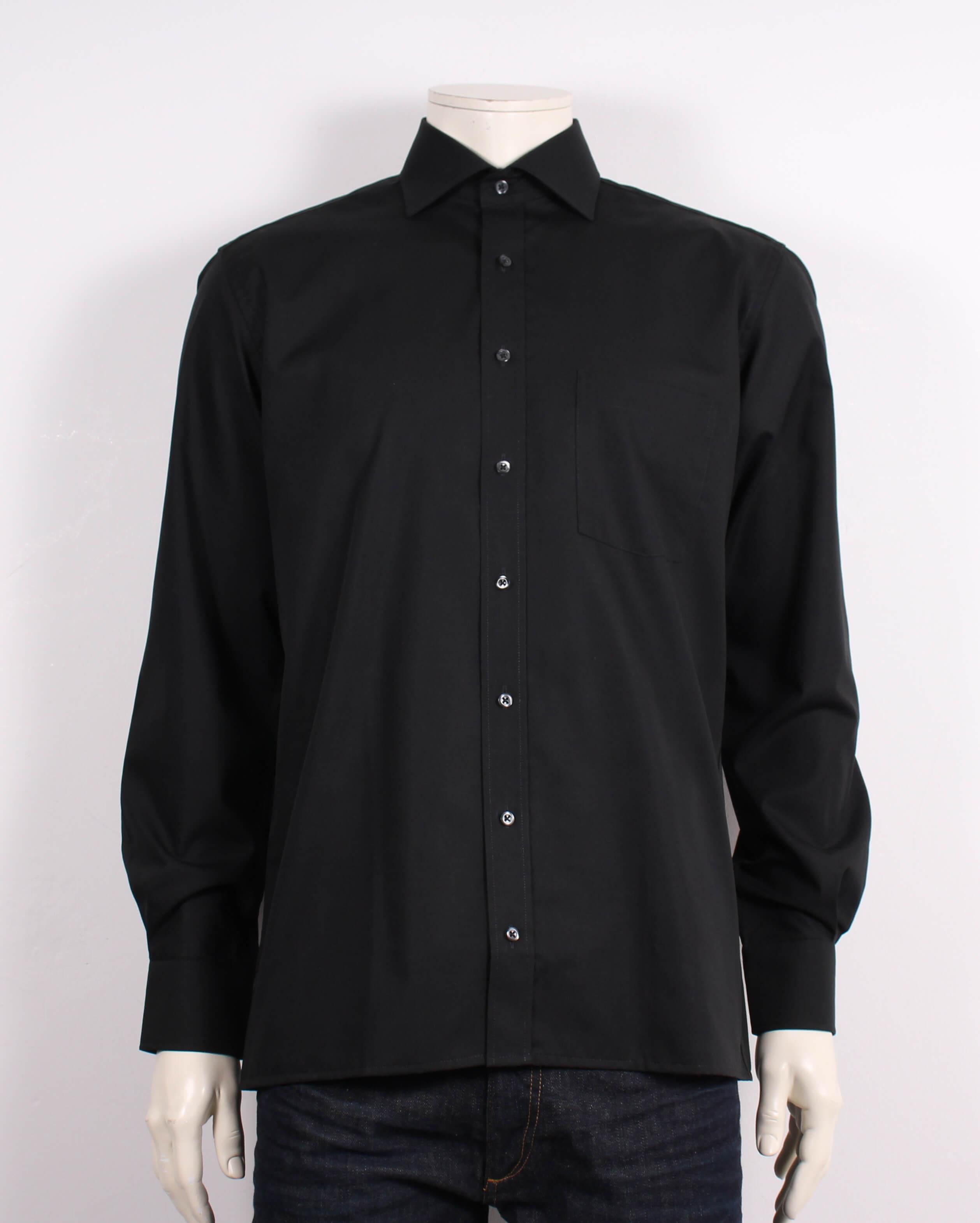 Eterna – Redline Skjorte – Modern Fit – Sort