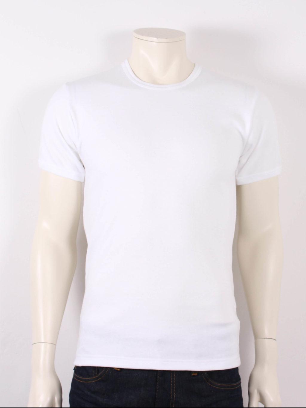 Samsøe Male Pluto SS T shirt Hvid Tilbud