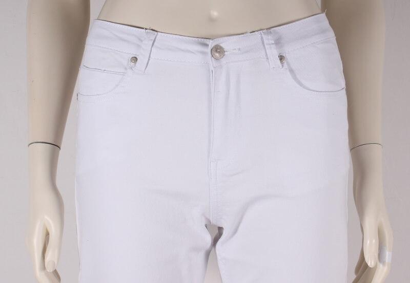 ASP Smarte Liv 78 Slimfit Dame Jeans Hvid