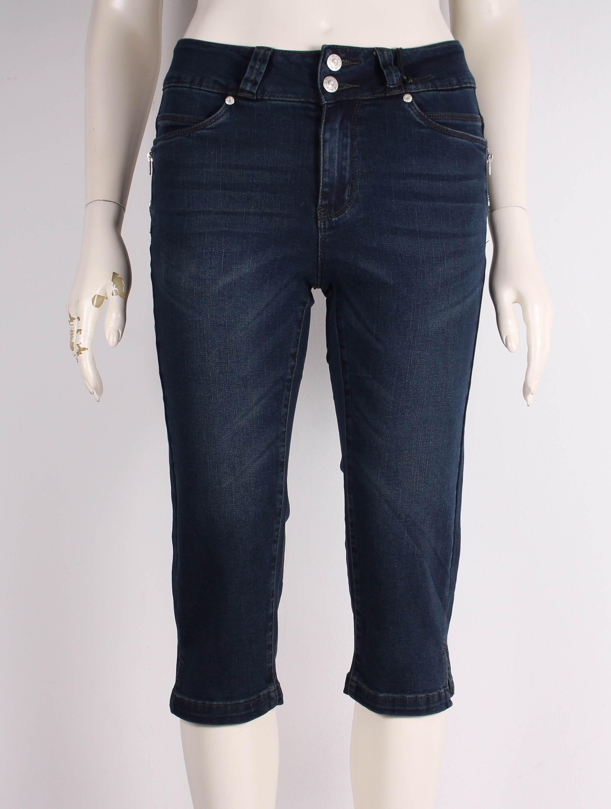 ASP – Smarte Elis pirat Jeans – Mørkeblå denim