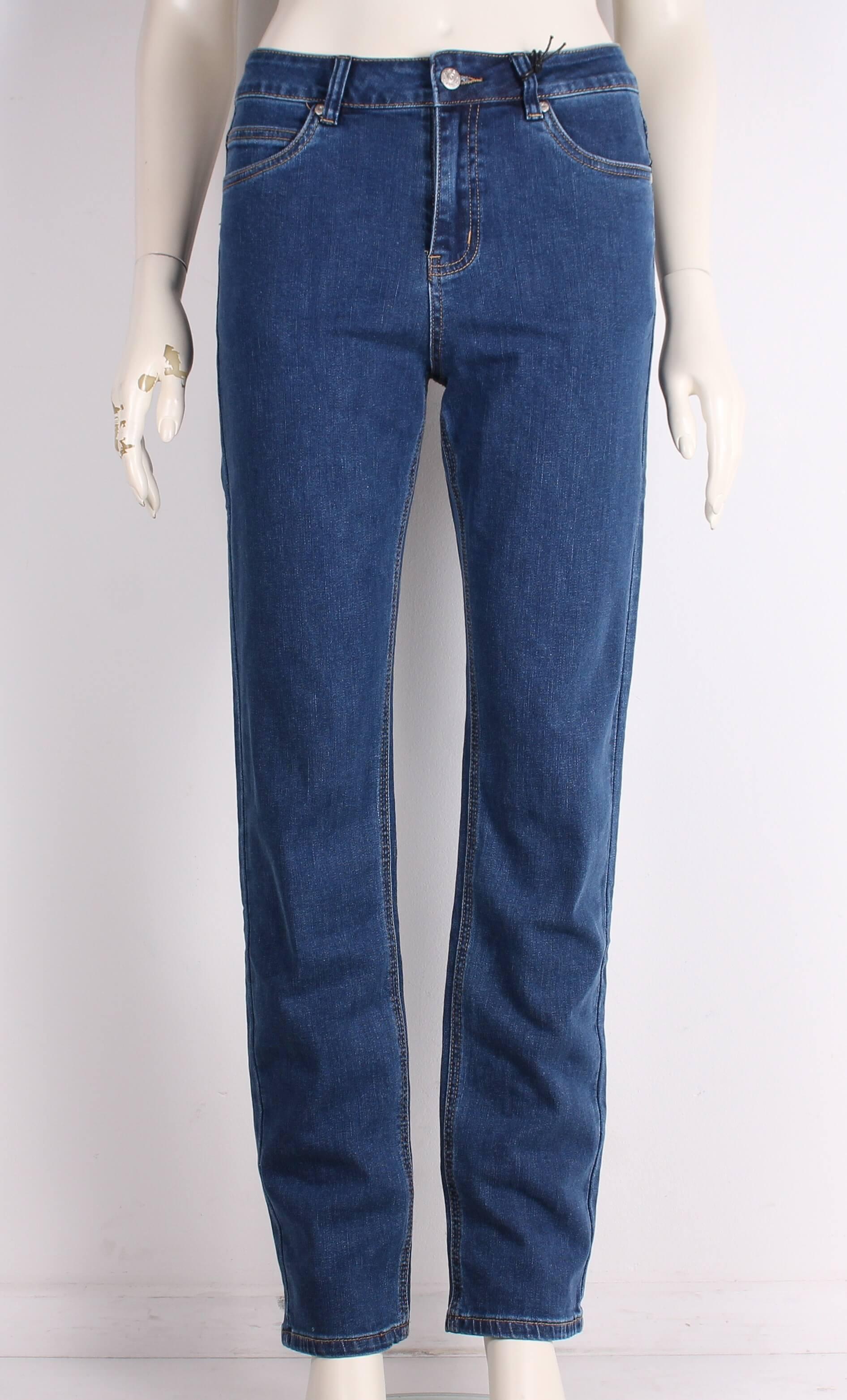 ASP – Smarte Dame Net Jeans m. høj talje – Blå