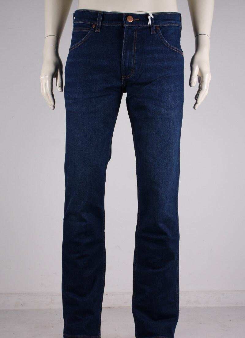 Wrangler – Greensboro Regular Staight Jeans – Denim Blå