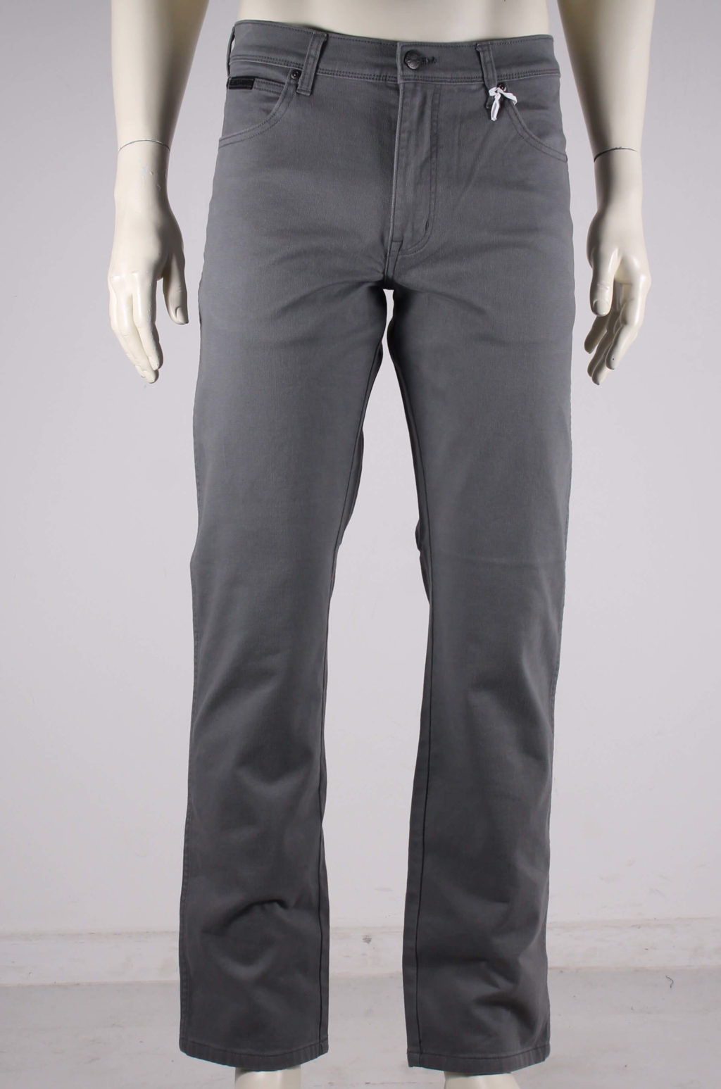 Wrangler Texas Smoked Pearl brushed pants Grå 50%