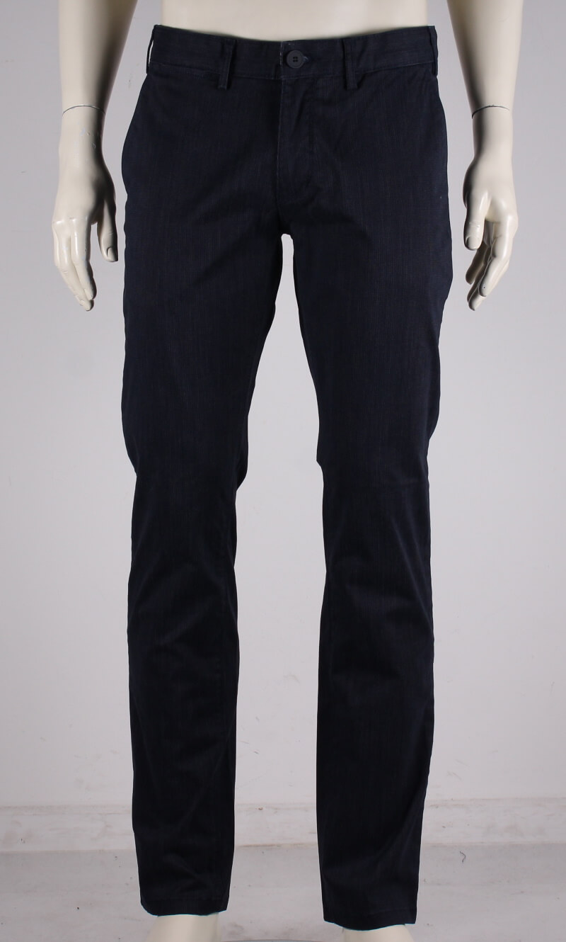 Bison – Stretch herre chino buks – Navy – 50%