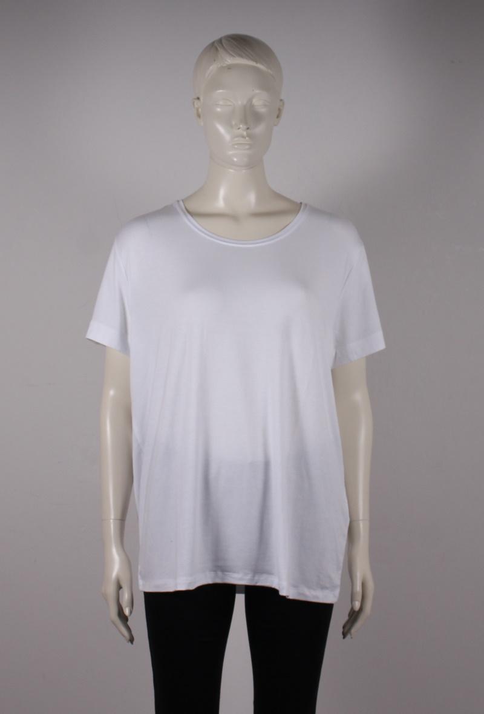 Only Carmakoma – Carmakoma Basis T-shirt 42-54 – Hvid