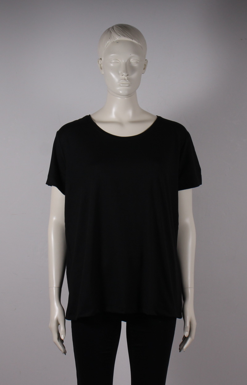 Only Carmakoma – Carmakoma Basis T-shirt 42-54 – Sort