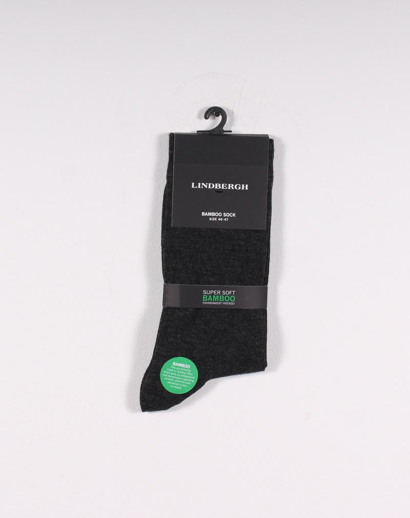 Lindbergh – Bamboo sock – Mørkegrå