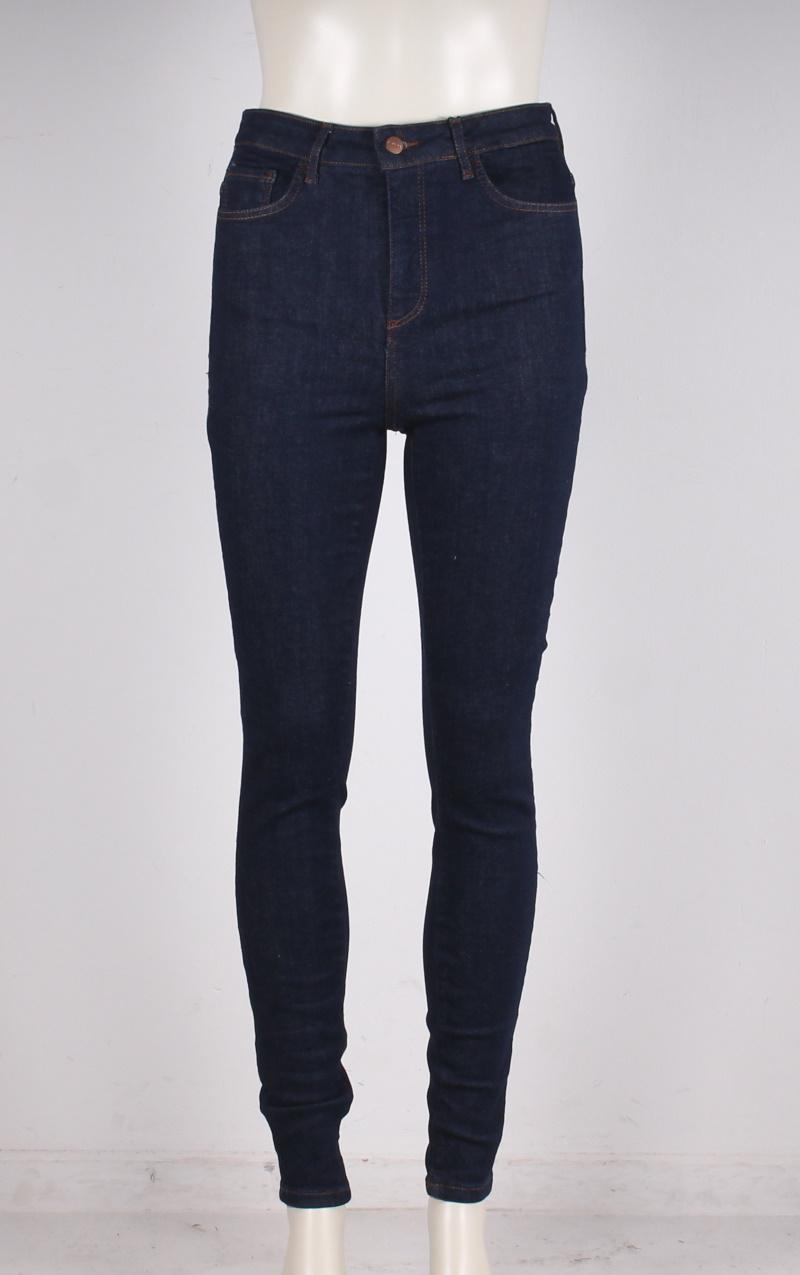 Vero Moda – Aware – Sophia Highwaist skinny jeans – Mørk denim