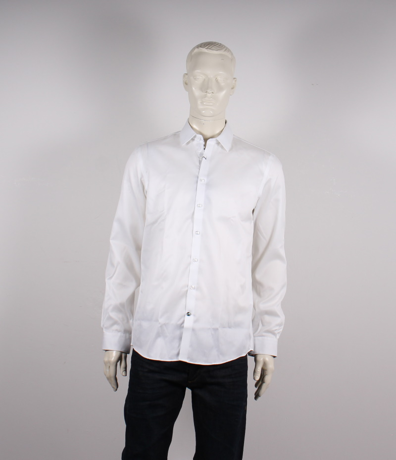Lindbergh Black – Technical Skjorte – Hvid