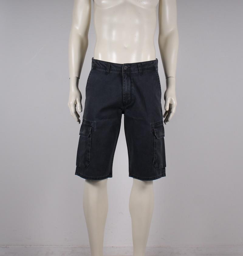 Wrangler – Regular Fit Cargo Shorts – Sort