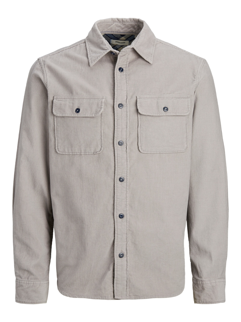 Jack&Jones – CPO Shirt – Lysegrå