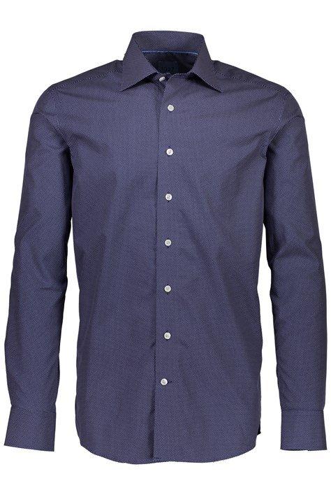 Lindbergh – Lækker Herre Skjorte – Mørkeblå