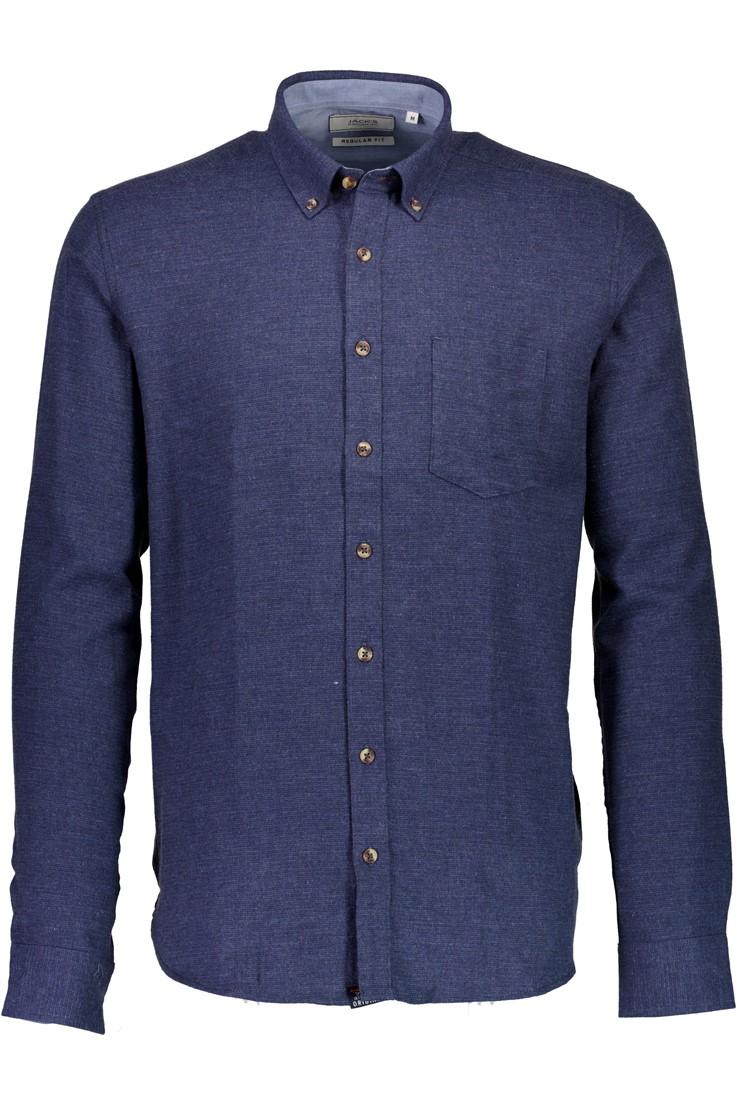Morgan – Lækker Herre Skjorte – Blå – 50%
