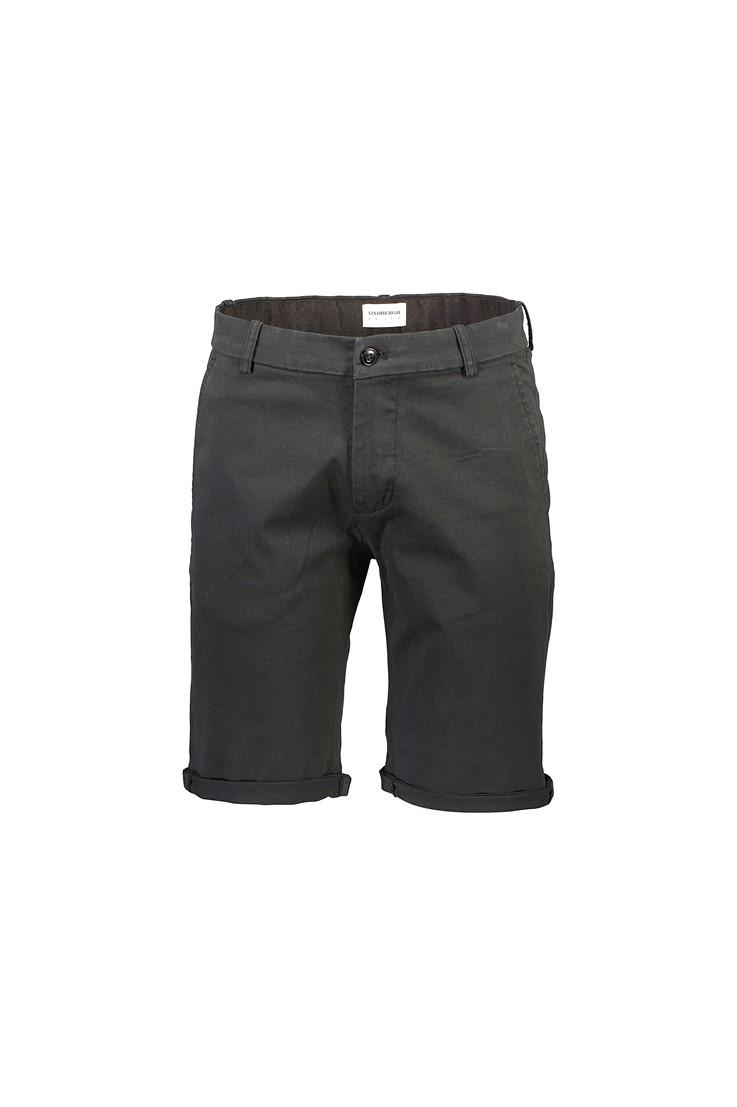 Lindbergh White – Superflex Chino Shorts – Sort
