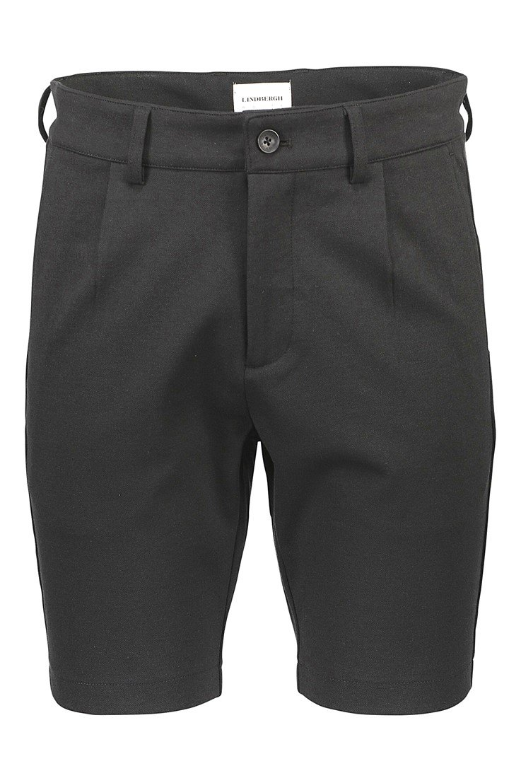 Lindbergh White – Pleated Shorts – Sort