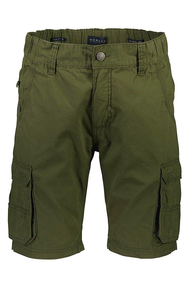 Morgan – Cargo Cotton Shorts – Olive